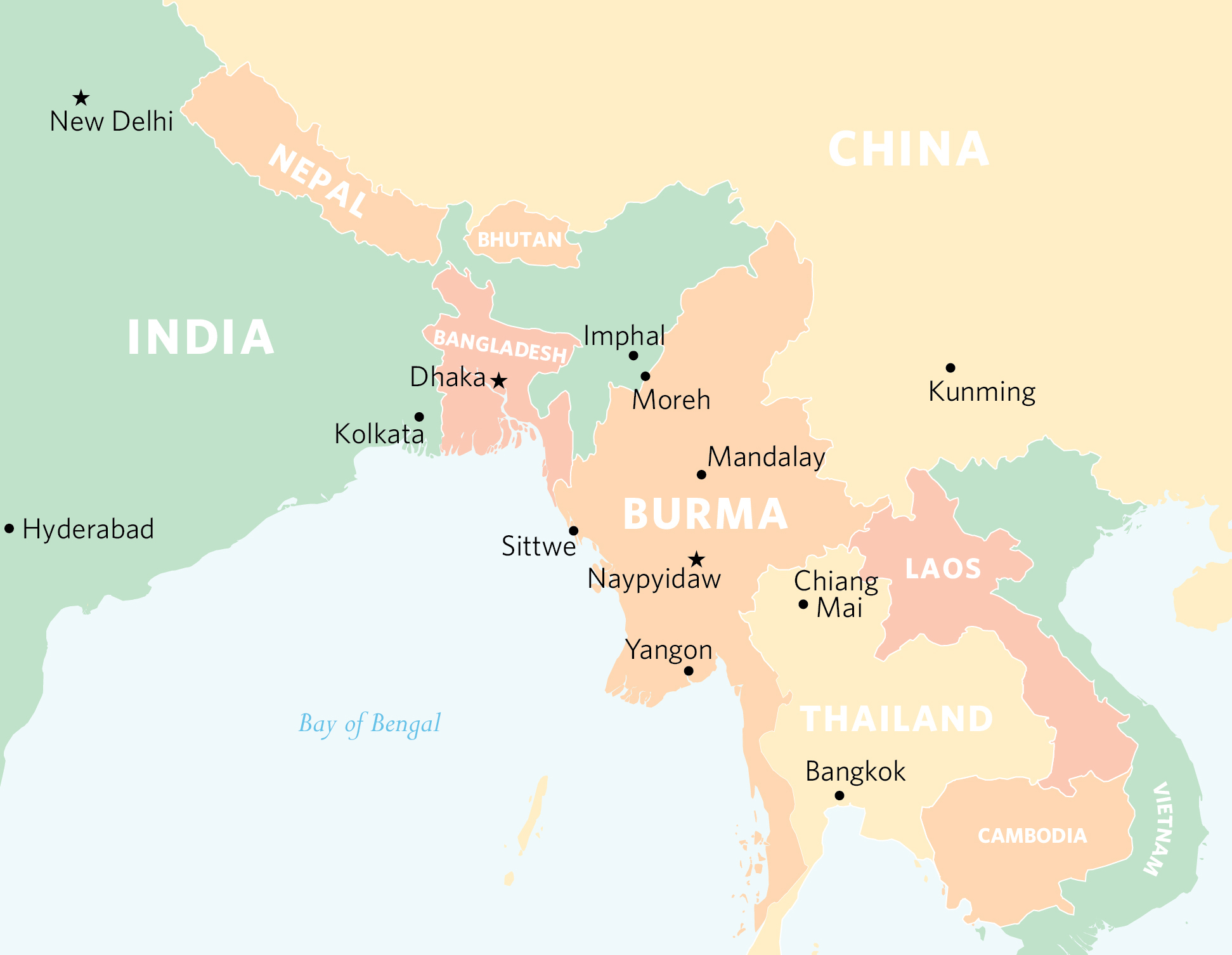 burma chinese relationship
