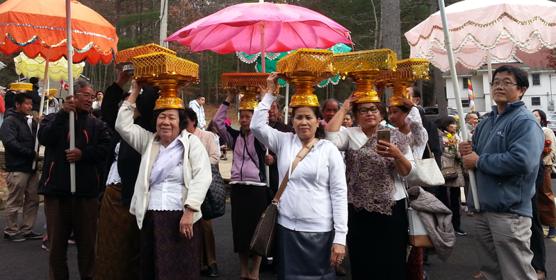 Wat Kiryvongsa Bopharam Kathin 2559 a