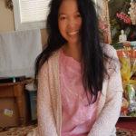 Jendhamuni pink shirt smiling