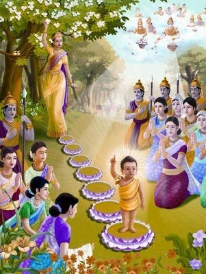 The Birth of Lord Buddha - Templenews